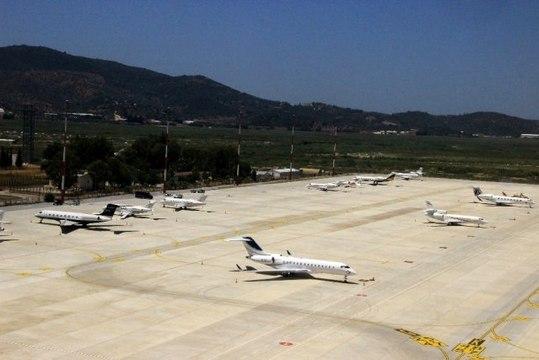 Muğla'ya özel jetleriyle gelen turistlerin sayısı her geçen gün artıyor