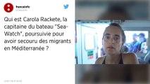 Carola Rackete, capitaine du Sea-Watch 3, s'explique devant la justice italienne