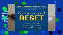[Read] Financial Reset: How Your Mindset about Money Affects Your Financial Well-Being  For Free