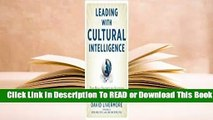 Online Leading with Cultural Intelligence: The Real Secret to Success  For Trial