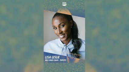 Lisa Leslie Is A Champion, Hall-of-Famer And Head Coach Of The BIG3's Triplets