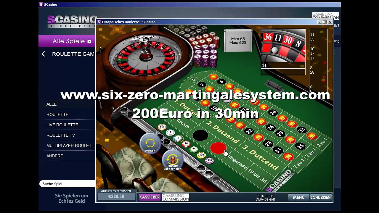 Online Roulette System »❶❶❶« Schnell 200Euro mit Roulette!
