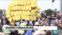 """Ebola en RDC : """"Fermer les frontières nous empêcherait de lutter contre l'épidémie"""""""