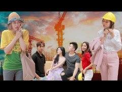 English sub Chu Tich Mac Ao Cong Nhan Di Khao Sat Cong Trin