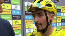 """Tour de France 2019 / Julian Alaphilippe """"L'objectif, c'est d'être encore en jaune ce soir"""""""