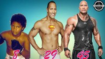 The Rock - from 1 to 45 Years Old