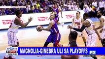 Magnolia-Ginebra uli sa playoffs