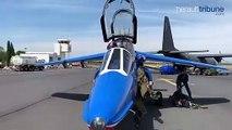 LE CAP D'AGDE - Visite d'un alpha jet !