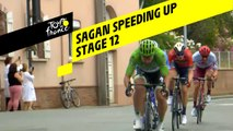 Sagan accélère / Sagan speeding up - Étape 12 / Stage 12 - Tour de France 2019