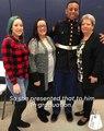 Marine surprises grandma then honors grandfather's legacy