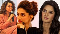 Kangana Ranaut makes fun of Deepika Padukone & Katrina Kaif; Here's Why | FilmiBeat