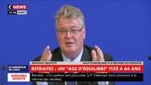 Jean-Paul Delevoye a présenté le futur «système universel» des retraites