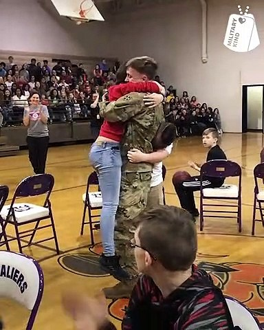 Loved ones surprised by returning service members