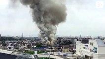 Más de 20 muertos en un incendio de un estudio de 'anime' en Japón