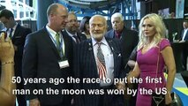 Buzz Aldrin calls for collaboration as new space race begins