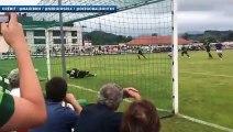 Luca Zidane arrête un penalty pour son premier match avec Santander