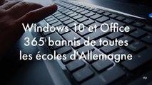 L'Allemagne ne plaisante pas avec la loi : Windows 10 et Office 365 bannis de toutes ses écoles