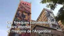 25 ans après, l'attentat de l'Amia sur les murs de Buenos Aires