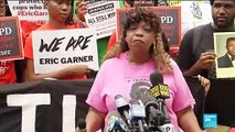 Protesters demand justice in NY five years after Eric Garner's murder