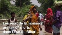 Inde: faim et désespoir pour les victimes des inondations