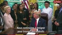 Nadia Murad, ancienne esclave de Daech, a été reçue par Donald Trump