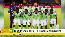 CAN 2019 : le Nigeria prend la troisième place