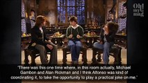 Harry Potter: The Prank That Alan Rickman Played On Daniel Radcliffe During A Scene