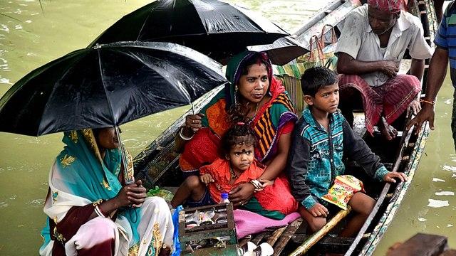 India's monsoon floods kill dozens, displace thousands