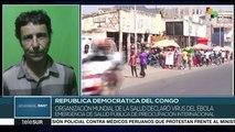 OMS declara brote de ébola en RDC emergencia de salud pública