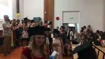 La cérémonie de remise de diplôme de la promotion 2016-2019 des étudiants infirmiers de Bourg-en-Bresse