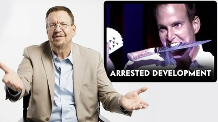 Penn Jillette (Penn & Teller) Reviews Magic Tricks in The Prestige, Arrested Development and More