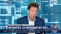 """Geoffroy Roux de Bézieux (Medef): """"On soutient plutôt les grands principe de cette réforme"""""""