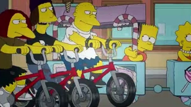 The Simpsons Season 24 Episode 22 Dangers on a Train