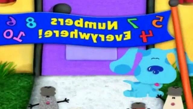 Blues Clues Season 5 Episode 12 - Numbers Everywhere!