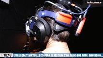 Entre réalité virtuelle et opéra, le Festival d'Aix prend une autre dimension...
