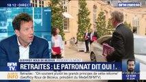 """Geoffroy Roux de Bézieux: """" Le Medef soutient les grands principes de cette réforme des retraites"""""""