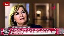 Fátima Campos Ferreira venceu Luta contra o cancro «Vídeo»