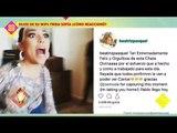 ¡Frida Sofía es sorprendida en su debut por su padre! | De Primera Mano