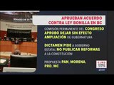 ¿Qué opinan los legisladores de Morena sobre la Ley Bonilla? | Noticias con Ciro Gómez Leyva