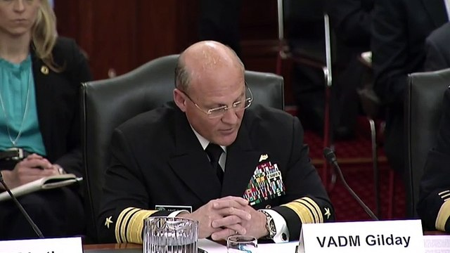 Trump Nominates Vice Adm. Michael Gilday To Head The Navy