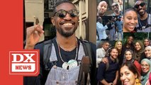 A Flute-Playing André 3000 Is Strolling Around Philly Taking Photos With Fans