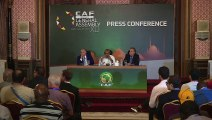 CAF congress held in Cairo on the eve of the 2019 Africa Cup of Nations final