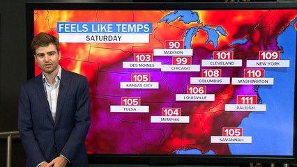 U.S. braces for record-breaking heat wave