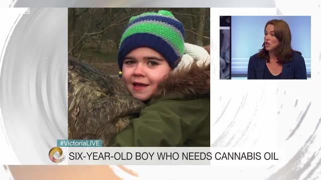Hannah Deacon, whose son Alfie has been treated with cannabis oil, met Theresa May