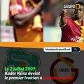 Les 4 Ivoiriens de Galatasaray