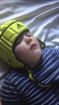 Mum's heartwarming video of son's fit in cannabis oil bid