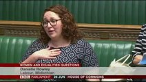 Scots MP tells parliament she is on her period while raising concerns about cost