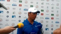 Rory mcIlroy's thoughts on his third round at the Irish Open