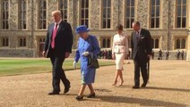 Trump visits Queen