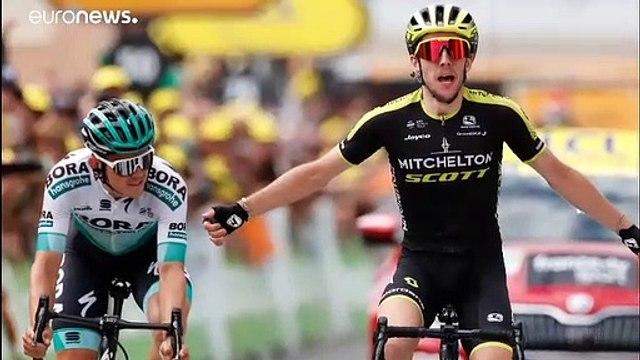Tour de France: Brite Simon Yates gewinnt 12. Etappe